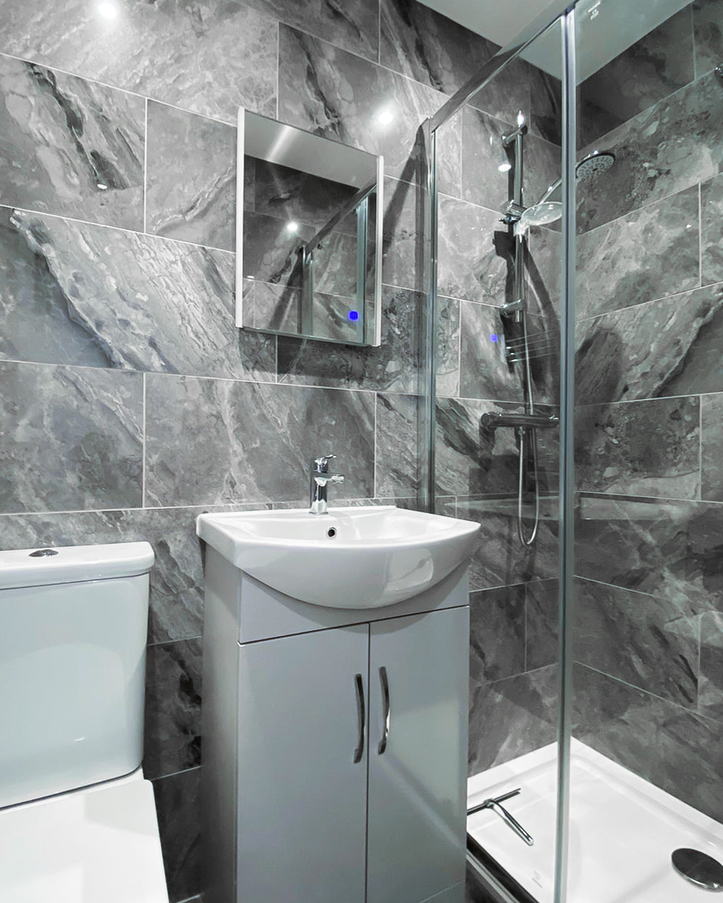 Russell Hewes bathroom renovation mitcham london